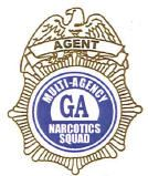 Narcotics Task Force Badge Logo